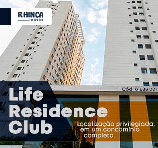Cód: 01688.001 - Life Residence Club - Localização privilegiada, em um condomínio completo. - R.Hinça Imóveis